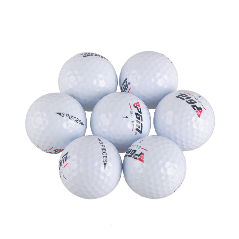 Image 4 - 2018 Promotion Limited 80   90 Balle De Golf Match Game Scriptures Pgm Golf Balls Lol Floorball Sport Practice Three layer Ball-in Golf Balls from Sports & Entertainment