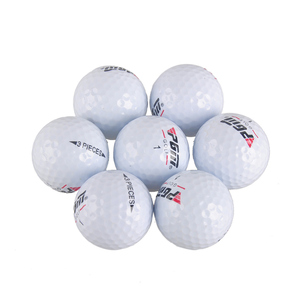 Image 4 - 2018 Promotion Limited 80   90 Balle De Golf Match Game Scriptures Pgm Golf Balls Lol Floorball Sport Practice Three layer Ball