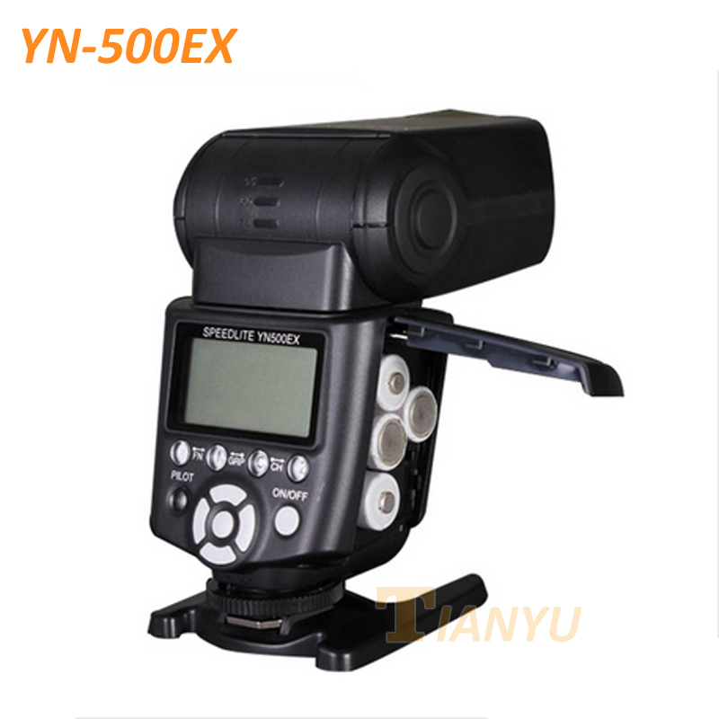 YONGNUO YN500EX YN-500EX GN53 E-TTL 1/8000s High Speed HSS Portable Flash Speedlite for Canon 7D 6D 5D2 60D 650D 600D 550D 5D3 3pcs yongnuo yn600ex rt auto ttl hss flash speedlite yn e3 rt controller for canon 5d3 5d2 7d mark ii 6d 70d 60d