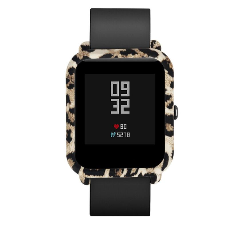 CARPRIE Smart Accessories wrist strap Pattern Slim Colorful Frame PC Case Cover Protect Shell For Huami Amazfit Bip jan2
