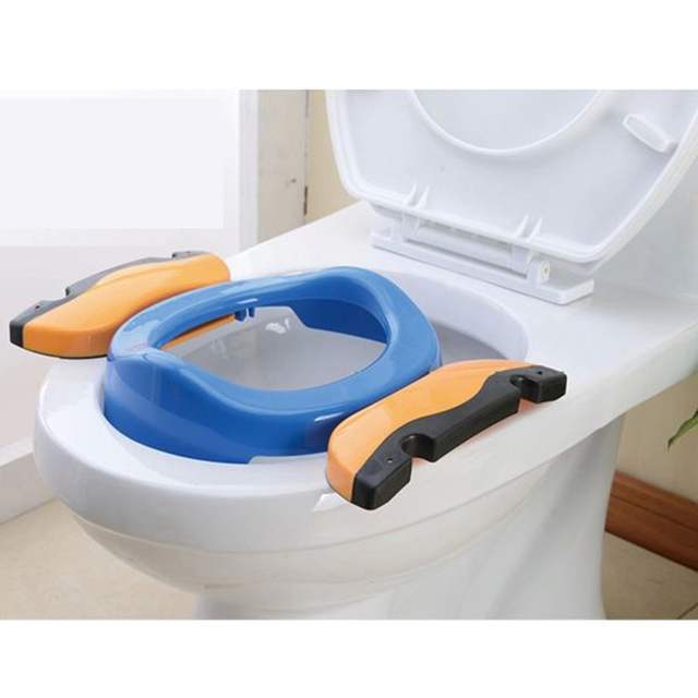 High Quality Baby Infant Chamber Pots Foldaway Portable Toilet Training Seat Potty Ring