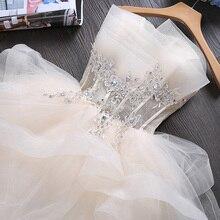 Nieuwe Zweet Korte Mouwloze Dame Meisje Vrouwen Prinses Bruidsmeisje Banket Party Ball Dress Gown Gratis Verzending