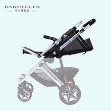 Babyruler детская коляска малолитражного автомобиля детские аксессуары лето чистая ткань