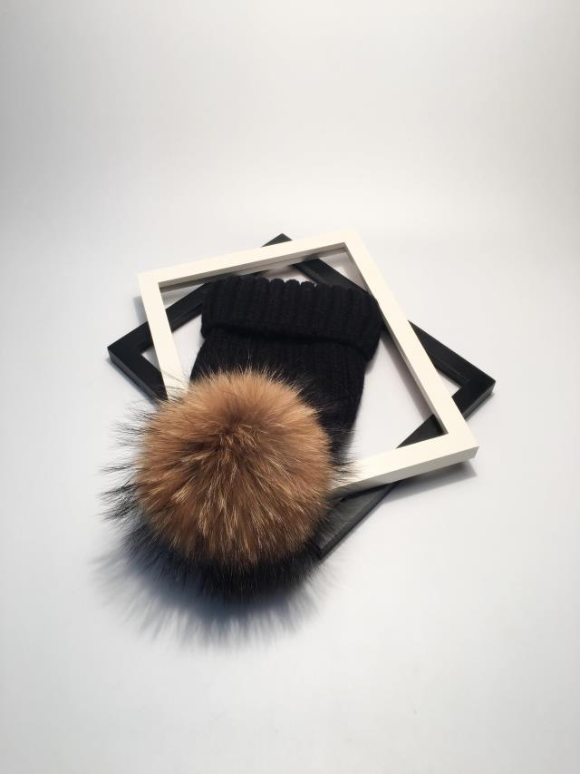 winter hats for women pom pom hat  (1)