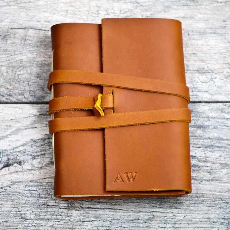 Personalized Premium Leather Journal with Initials Name Date Personalized Leather Portfolio Refillable Notebook HandmadePersonalized Premium Leather Journal with Initials Name Date Personalized Leather Portfolio Refillable Notebook Handmade
