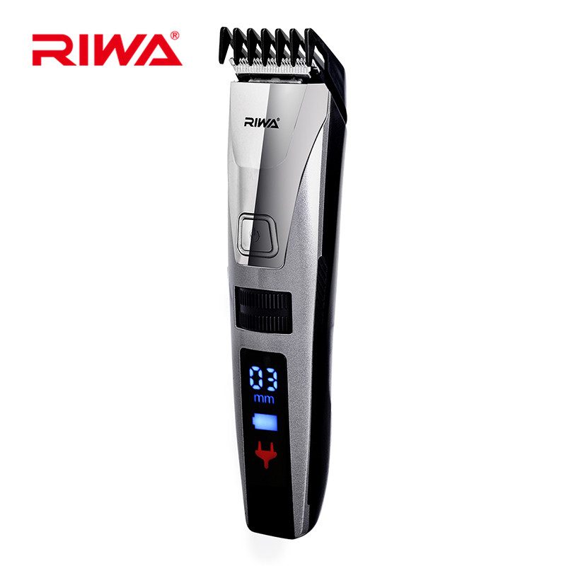 LED Professional Electric Hair Clipper Waterproof Rechargeable Hair Trimmer Hair Cutting Machine Haircut Beard Shaver Trimer 47