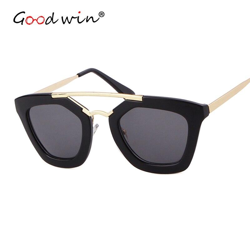 Women Sunglasses Zonnebril Designer Luxury Brand Good Win For Ladies Dames Acetate Cat-Eye
