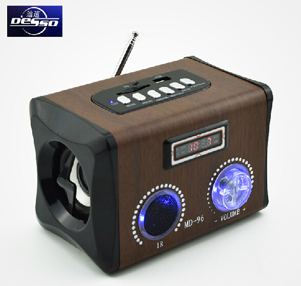New md 96 best soundremote control tf card radio wooden portable new md 96 best soundremote control tf card radio wooden portable mini music loud speaker with fmusbsdmmc slot free shipping in portable speakers from publicscrutiny Images