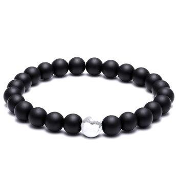 Bracelet Perle Noir