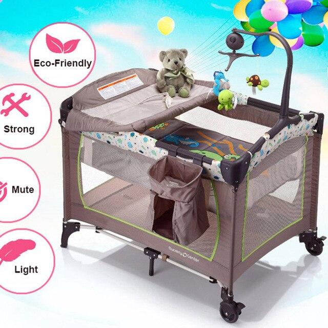 beb porttil cuna cama para nios cuna de viaje plegable cama cuna corral de