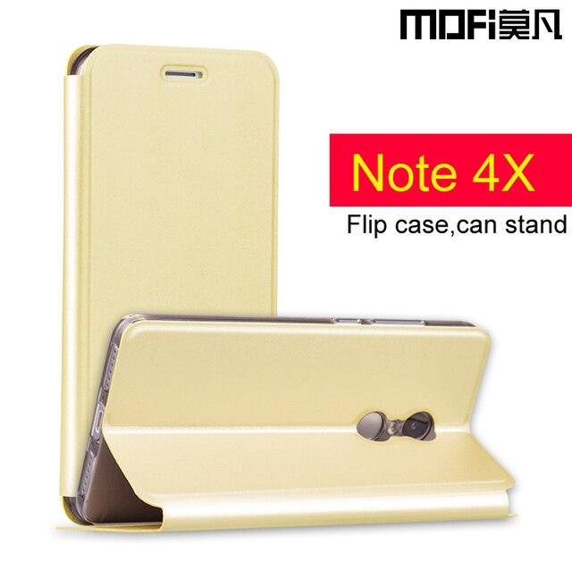 """Redmi note 4X case cover Xiaomi redmi note4X leather cover 5.5""""MOFi redmi note x4 hard back silicon redmi note 4x pro case"""