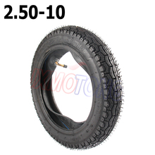 2.50-10 tire inner tube  tyre set  for XR CRF50 PW50 TTR50 PIT DIRT BIKE цена в Москве и Питере
