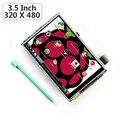 3.5 Дюймов 320X480 TFT LCD Дисплей Сенсорный Платы Для Raspberry Pi 2 Модель B & B + raspberry pi RPI 3