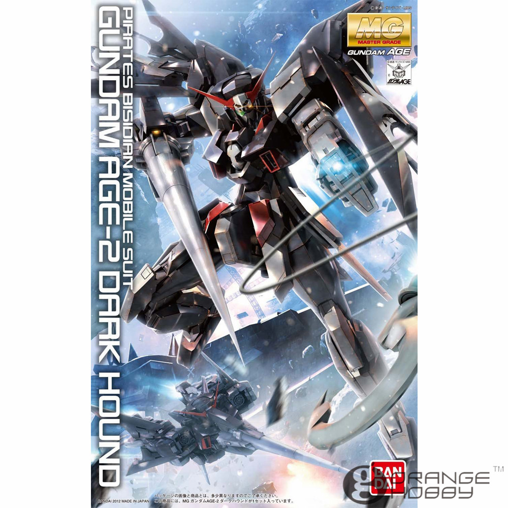 OHS Bandai MG 162 1/100 Gundam AGE-2 Dark Hound Mobile Suit Assembly Model Kits ohs bandai mg 185 1 100 ppgn 001 gundam exia dark matter mobile suit assembly model kits
