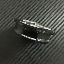 100pcs 57mm Silver Black Wheel Center Cap Hub Caps Rims Cover Emblem Badges Decoration DHL