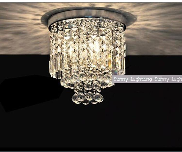Фото porch surface led crystal lighting mini ceiling light modern crystal ceiling lamp bedroom contemporary crystal lamp Luminaria. Купить в РФ