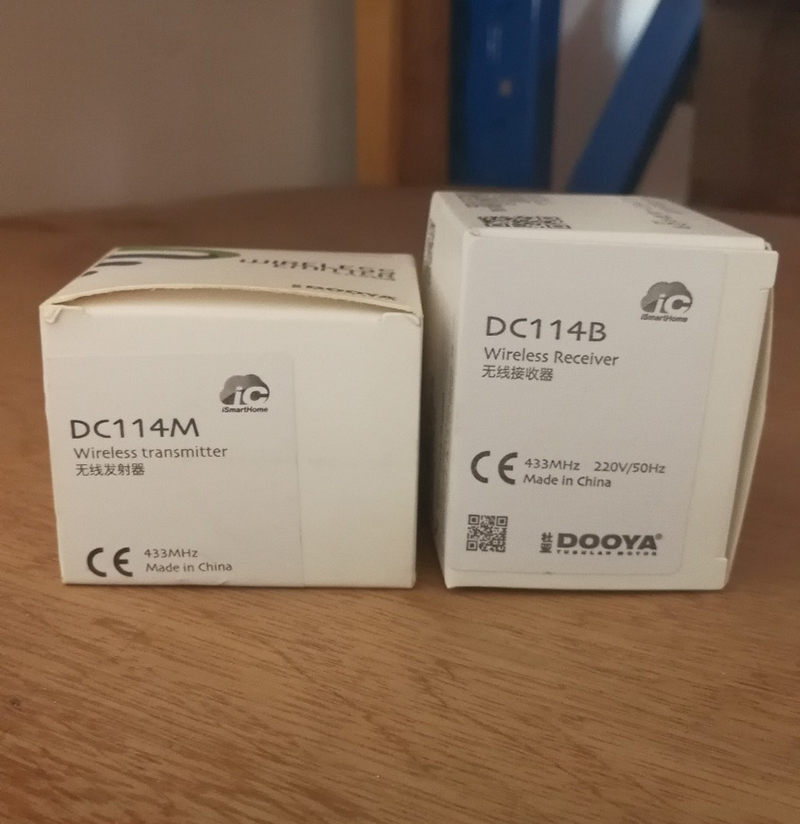 Livraison gratuite Maison Intelligente 433 mhz Récepteur Sans Fil Dooya contrôle pour toutes sortes de Rideau Motorisé Pistes ou moteurs
