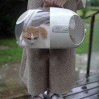 Роскошная переноска для кошек, прозрачная переноска для домашних животных, сумка для кошек, космическая сумка, переноска для кошек, перенос