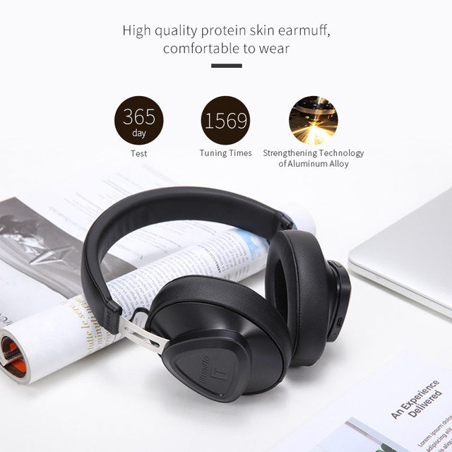 2018 Bluedio TM New Bluetooth headset Over-ear monitor studio headset for phone music earphone voice control