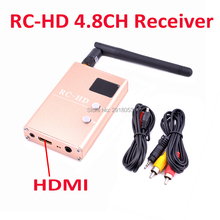 FPV 5.8G 5.8GHz 48CH RC832 RC832HD RC-HD Receiver With 2dBi antenna for FPV RC Racing Quadcopter