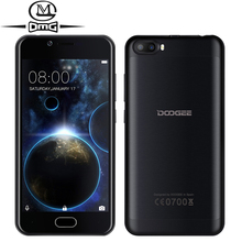 DOOGEE Shoot 2 Android 7.0 3G WCDMA Mobile Phone 5.0 Inch MTK6580 Quad-core 2GB RAM 16GB ROM Front Fingerprint Smartphone