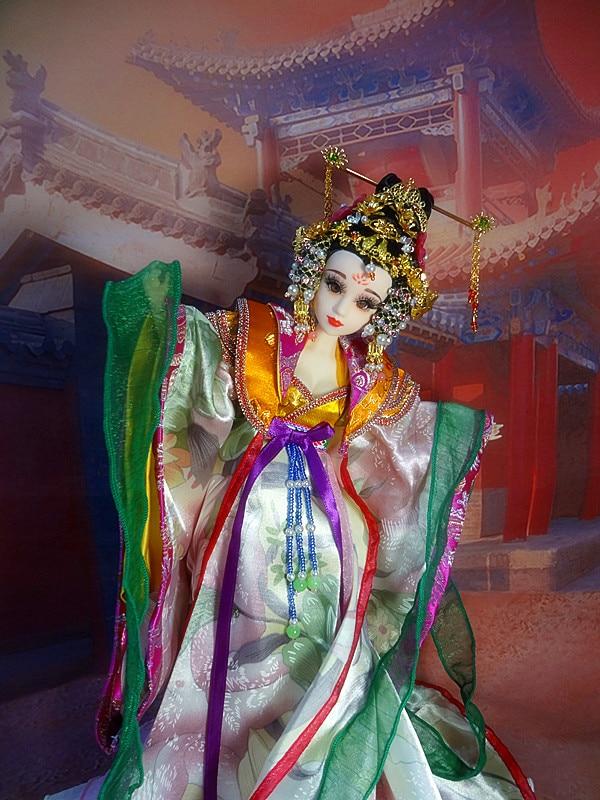 Besplatna dostava Vintage kineska princeza lutke sa zglobom tijela 3D - Lutke i pribor - Foto 6