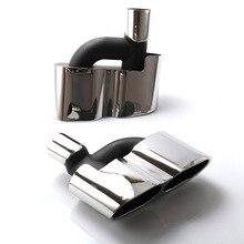 Wysokiej jakości tłumik wydechowy wskazówka 304 ze stali nierdzewnej rura wydechowa dla Mercedes Benz klasy S W221 TT100675