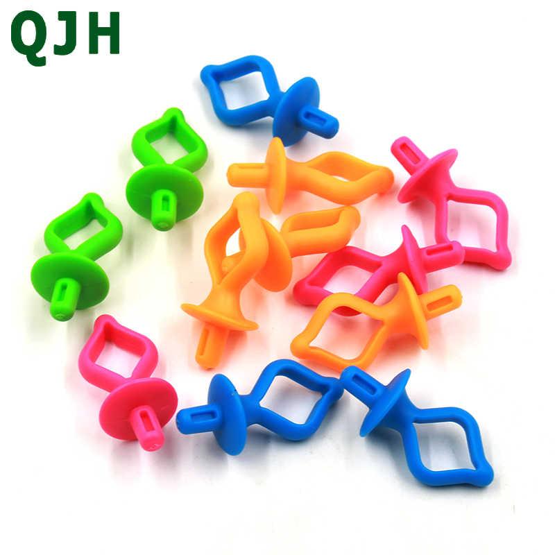 10 Pcs//set Bobbin Holder Thread Spool Clip Spools Organizer Tool for Sewing Machine Accessories random Colors