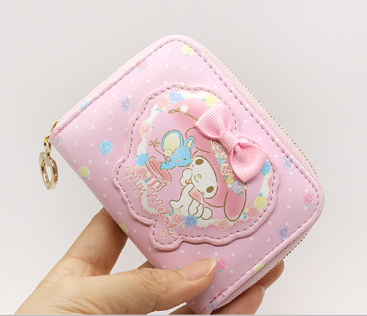 2017 News Genuine My Melody Card Holder Wallet Can Put 11 Credit Cards High-quality PU