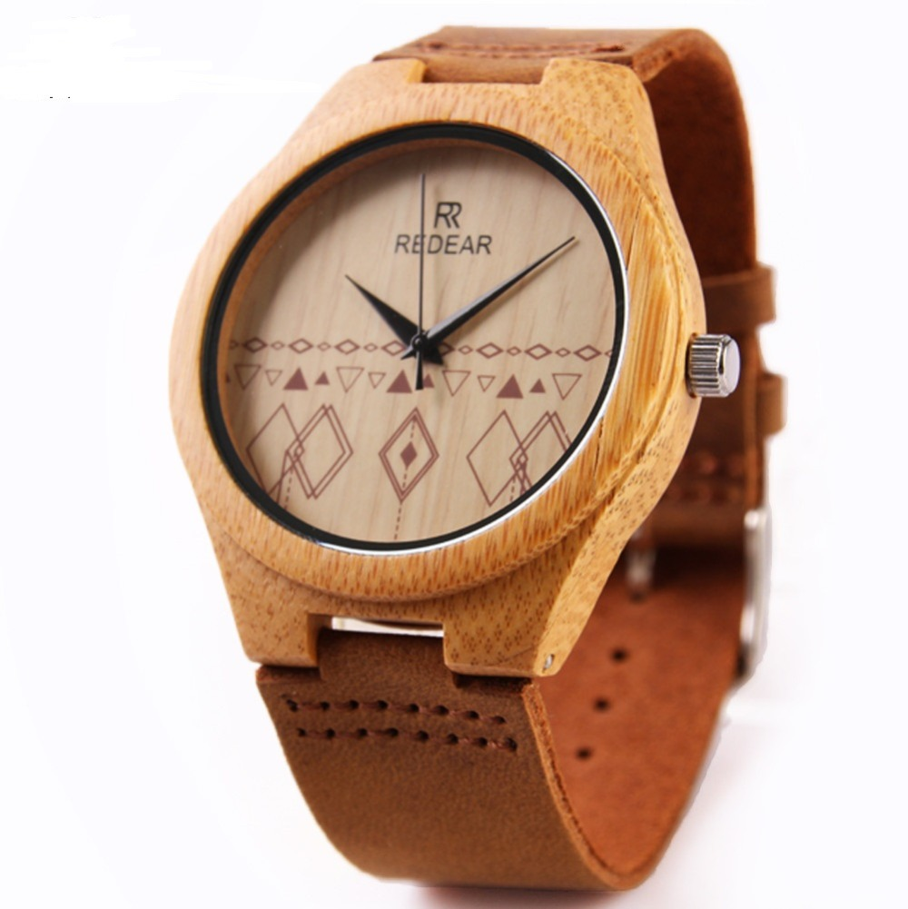 2016 new popular women/men Bamboo Wooden watch natura