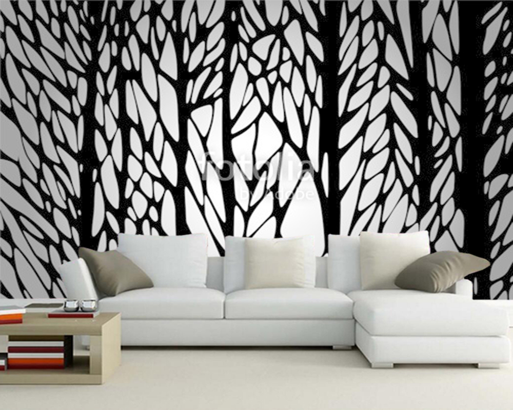 Custom abstract wallpaper, tree wall murals for the living room bedroom sofa background papel de parede Home Decoration customize wallpaper papel de parede star dimensional abstract painting abstract tree pachira 3d wallpaper free shipping4542