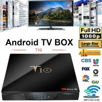 T10 TV Box S905W 2+16GB 4K HD TV Set top Box Network Player with Digital Picture Tube HDR Android TV BOX