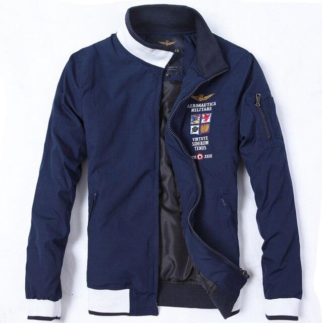 2015 Марка aeronautica militare мужчины куртку, мужская Верхняя Одежда Пальто Ввс зима армия Куртки jaquetas