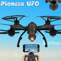 Pioneer UFO RC Drone With WIFI Camera 2 4G 4CH Remote Control Dron Quadcopter Professional FPV