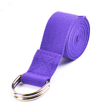 New Arrival Fitness Exercise Gym Yoga Stretch Strap Belt Figure Waist Leg free shipping