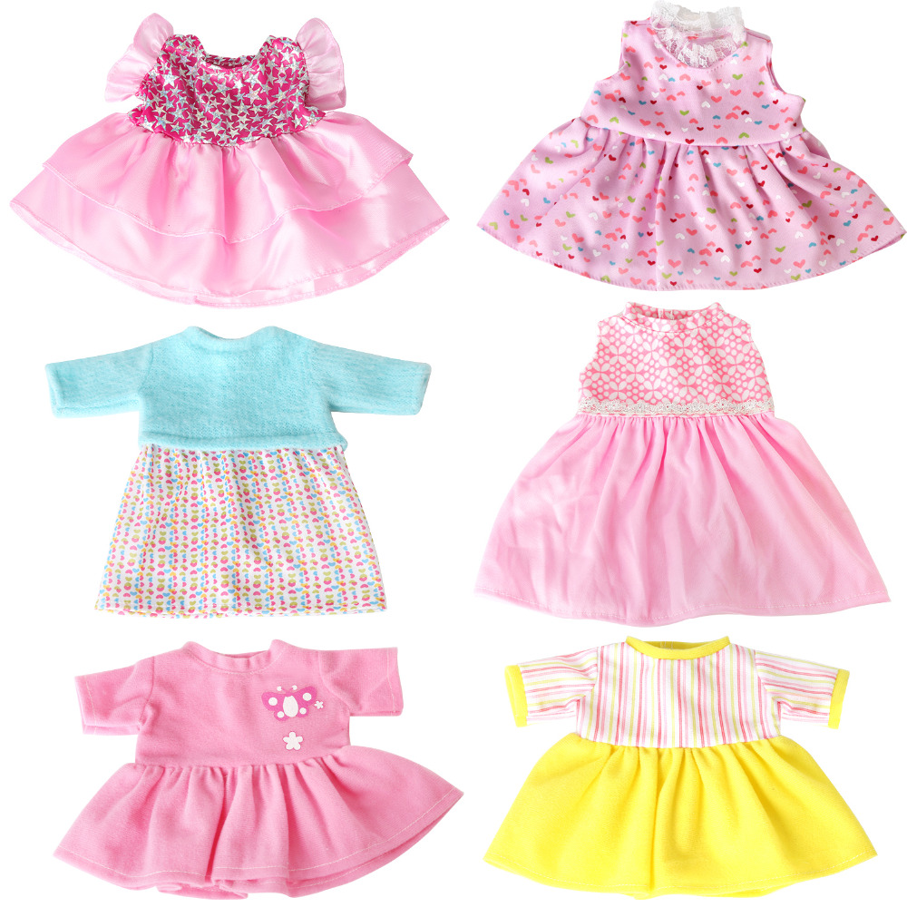 Bitty Baby Alive Doll Clothes Colorful Handmade Dresses Dolls