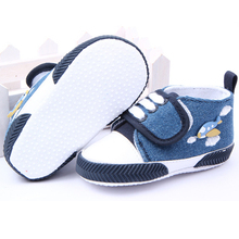Высокое качество детская обувь хлопка малышей первые ходунки корабль ребенка малыша обувь