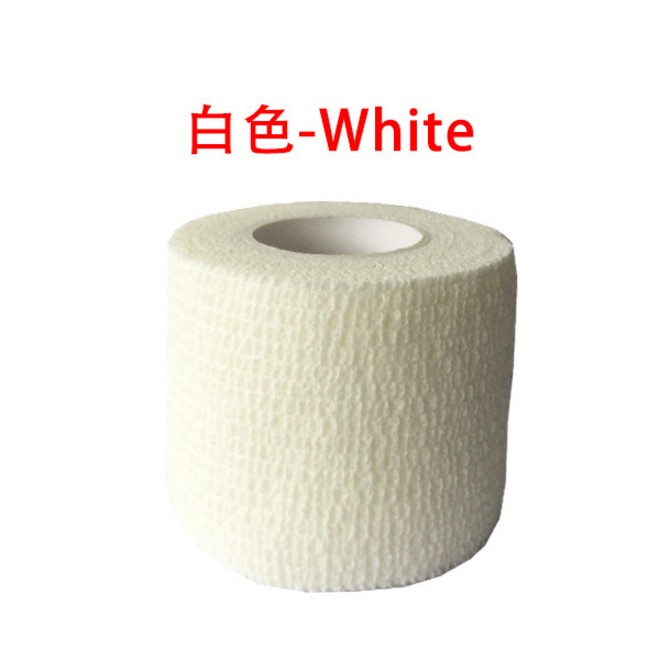 2/3/5pcs Self Adhesive White Bandage Elastic Stretch Wrap Tape Hand Wrist Finger Thumb First Aid Kit Sports Emergency Kits