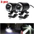 2 шт.  Универсальный светодиодный светильник «рыбий глаз» для мотоцикла U1  ночник + переключатель управления