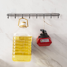 Punch-free strong hook kitchen utensils hook wall hanging nail-free load-free adhesive glue hook
