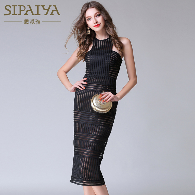 Black Lace Summer Dresses
