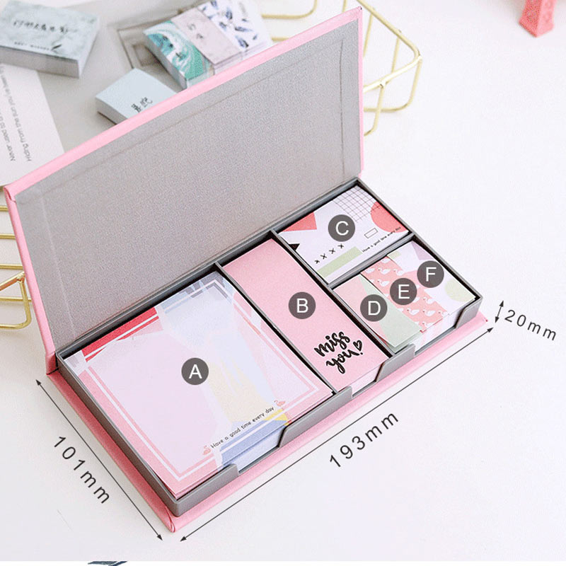 Yiwi Memo Pad Planner Sticky Notes Paper Sticker Notepad Kawaii Stationery Pepalaria Office School Supplies