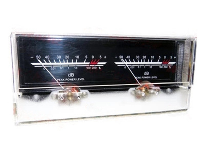 V-034 With Driver Free Board Power Amplifier VU Meter DB level Audio Power Meter with Backlight and Voltage 6.3 Double Pointer цены