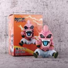 Dragon Ball Z GK Kids Buu Middle finger PVC Action Figure Collection Model Toys 12cm