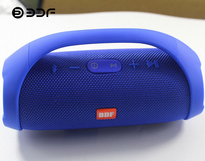 Bdf Portable Wireless Speaker Bluetooth Speaker Sound System 3d Stereo Music Surround Loudspeakers Tf Aux Usb Soundbar Subwoofer Attractive Appearance
