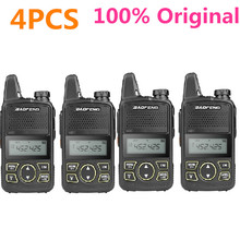 4PCS Original Baofeng BF-T1 Walkie Talkie UHF 400-470MHz  Two Way Radio Transceiver Mini T1 Wholesale