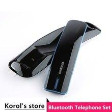 Neueste anti strahlung Retro telefonhörer Innovation Ein Bis Zwei Bluetooth Drahtlose kopfhörer voll unterstützung bluetooth handy