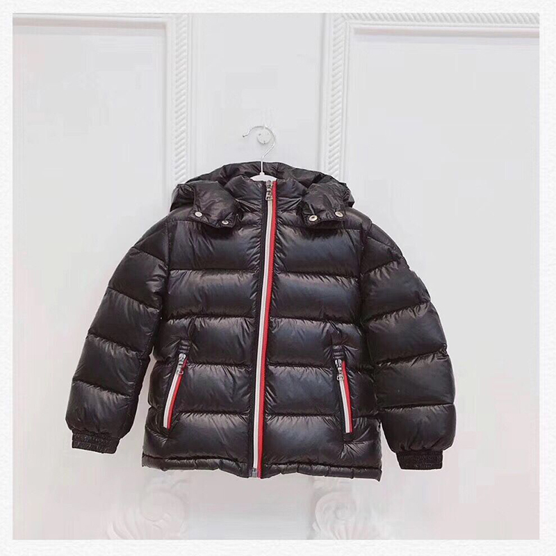 kid down jackets duck down coat hooded for boys girls autumn winter warm down clothes outwear in early Nov цена