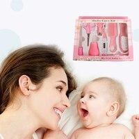 ベビーケアキット乳児爪ケアセット櫛はさみ新生児健康医療機器セット温度計安全保育園セット