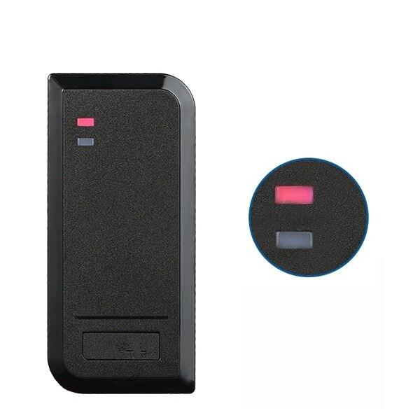 IP66 Outdoor Proximity RFID 125khz Or 13.56MHZ WG26~W37 Access Control RFID Reader RF EM Door Lock Access Card Reader